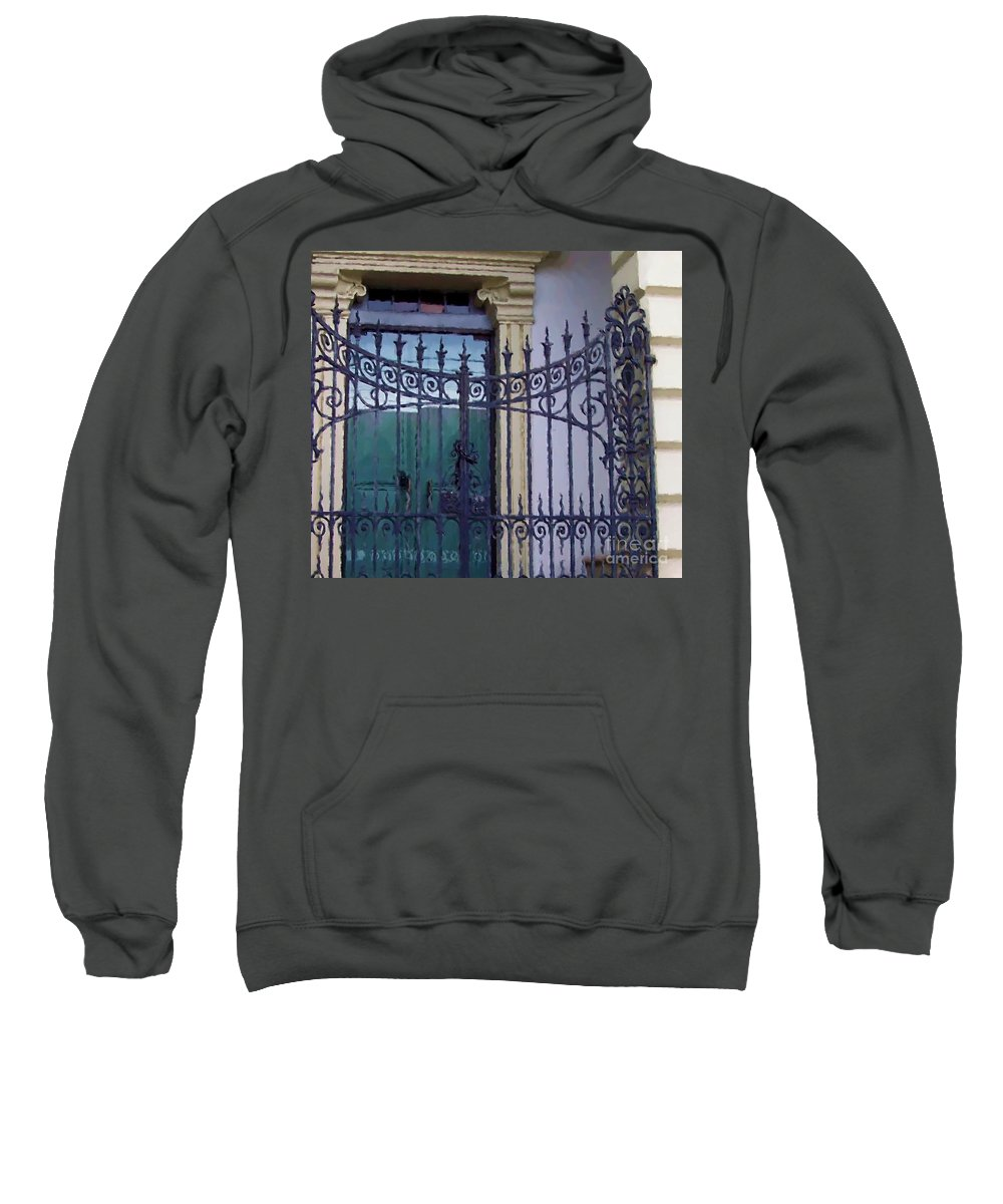 Gate Sweatshirt featuring the photograph Gated by Debbi Granruth