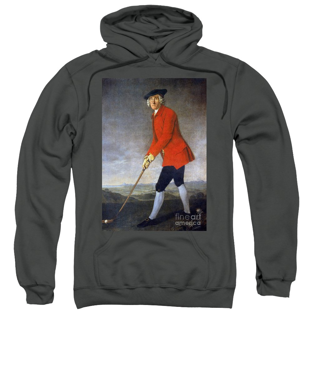 18th Century Sweatshirt featuring the photograph George Chambers: by Granger