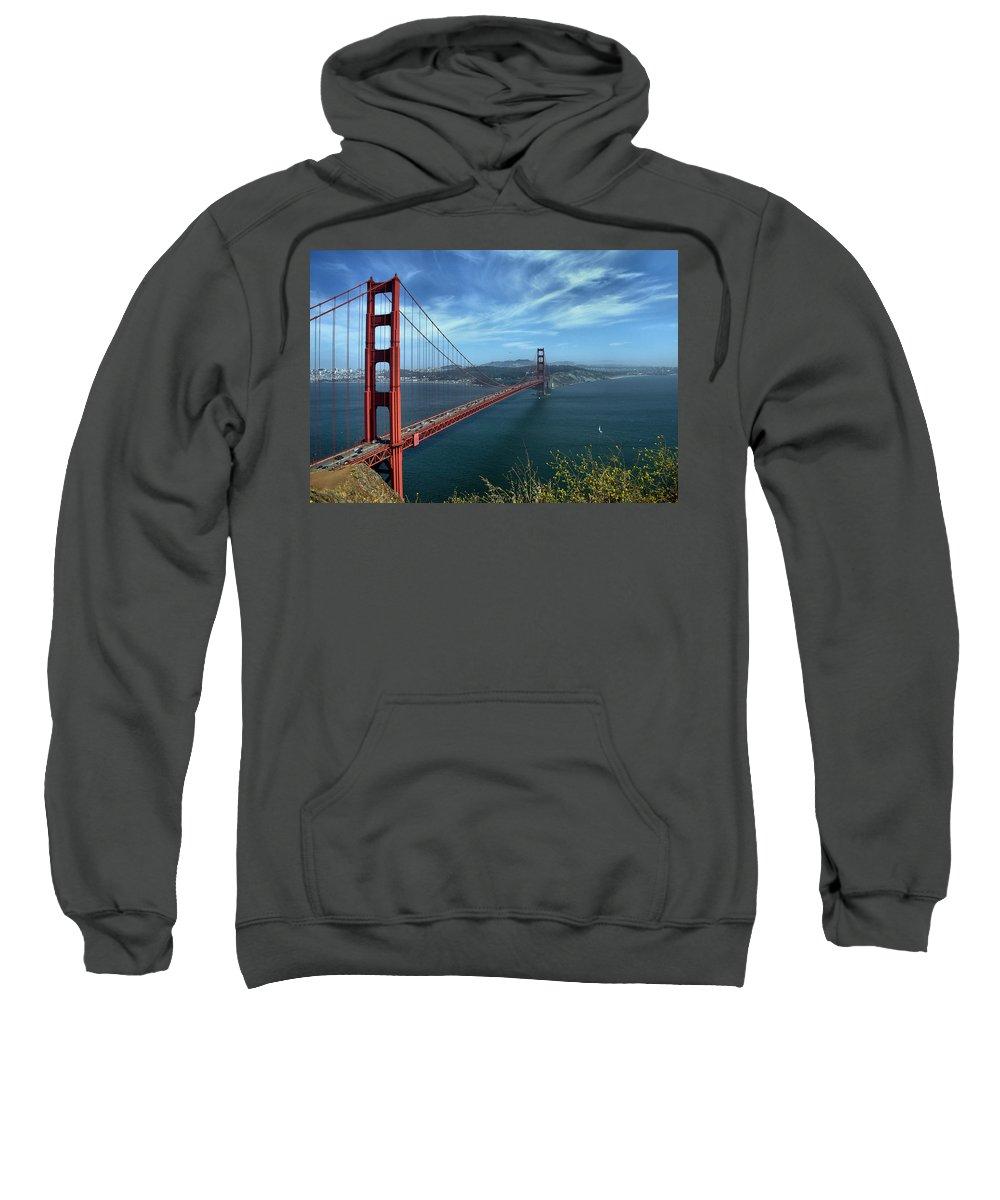 San Francisco Sweatshirt featuring the photograph Gg Gonzelman Way 3 by Michael Gordon