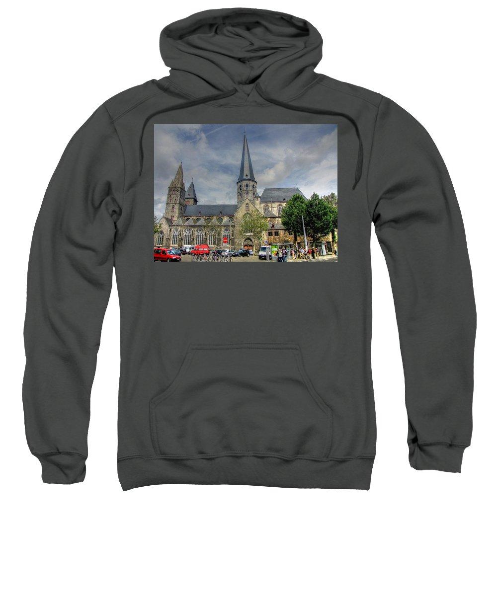 Ghent Belgium Sweatshirt featuring the photograph Ghent Belgium by Paul James Bannerman