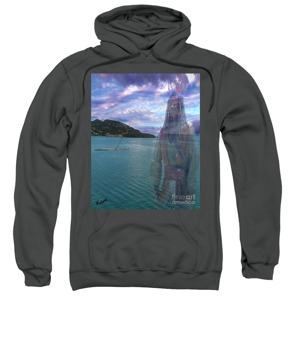 Pirate Sweatshirt featuring the photograph Ghost by Kami Catherman