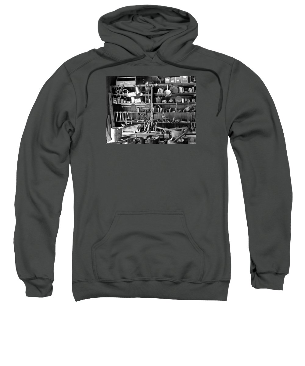4x4 Sweatshirt featuring the photograph Ghost Town Mining by Backcountry Explorers