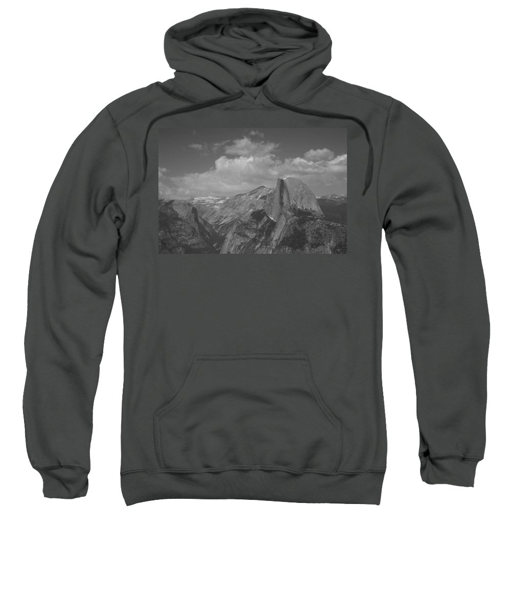 Half Dome Sweatshirt featuring the photograph Glacier Point by Travis Day