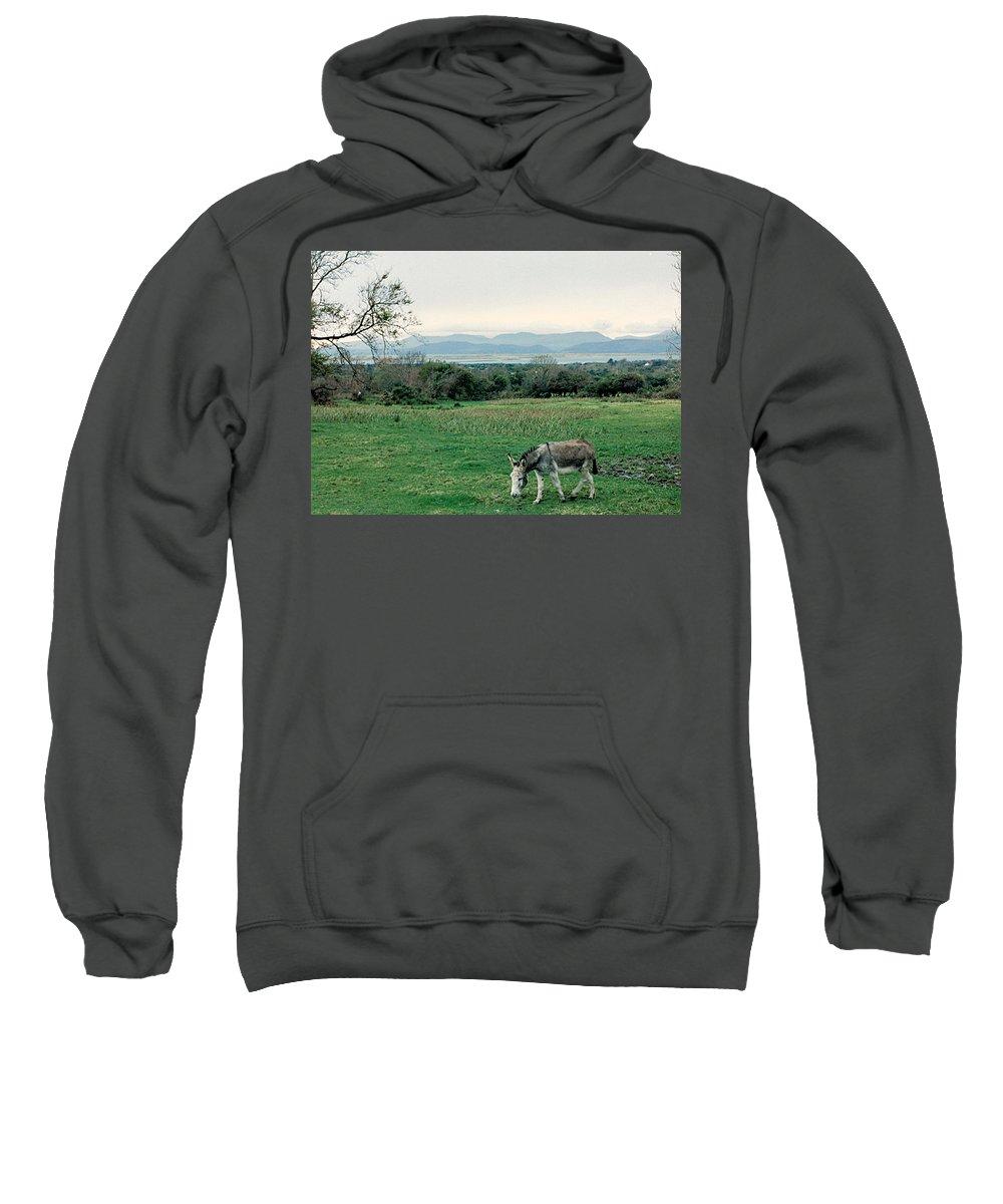Ireland Sweatshirt featuring the photograph Glenbeigh Ireland by Lauri Novak