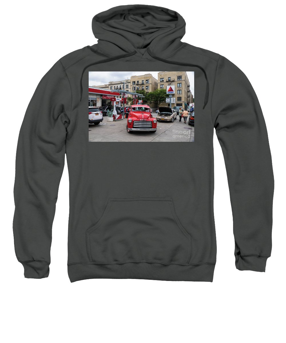 Pickup Sweatshirt featuring the photograph Gmc Pickup by Cole Thompson