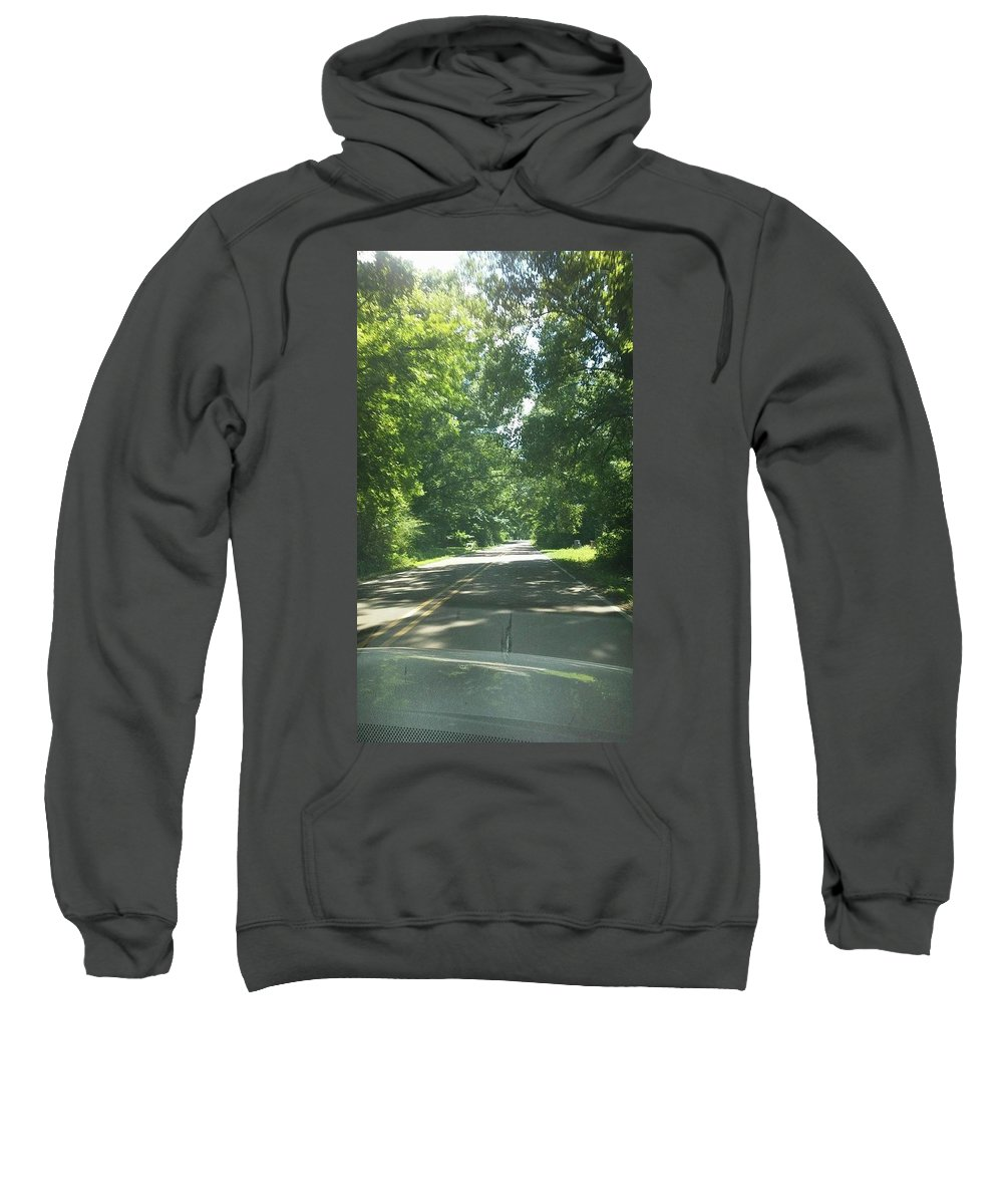 Sweatshirt featuring the photograph Going For A Ride by Asia Wilson