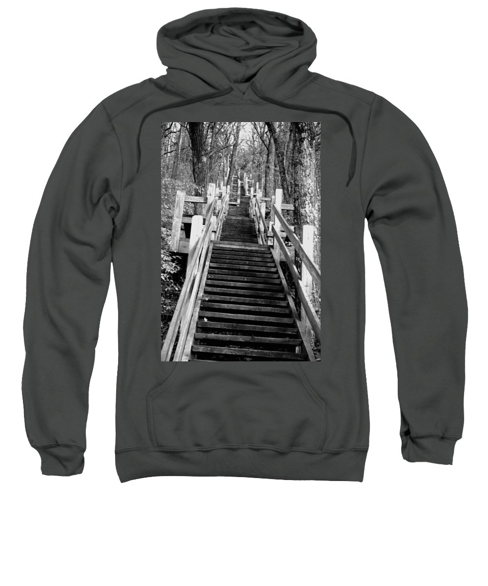 Stairs Sweatshirt featuring the photograph Going Up by Jamie Lynn