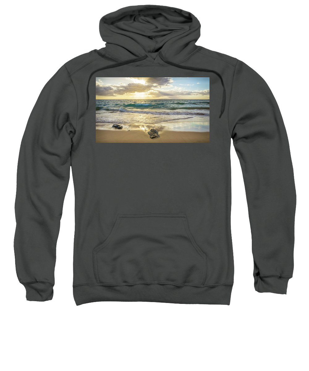 Landscape Sweatshirt featuring the photograph Gold by Sonia Bynum