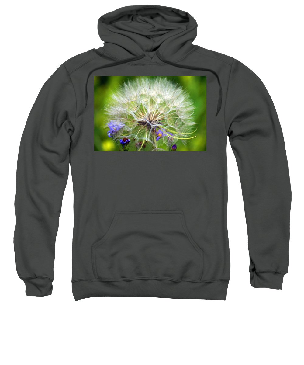 Sweatshirt featuring the photograph Gone To Seed by Marty Koch