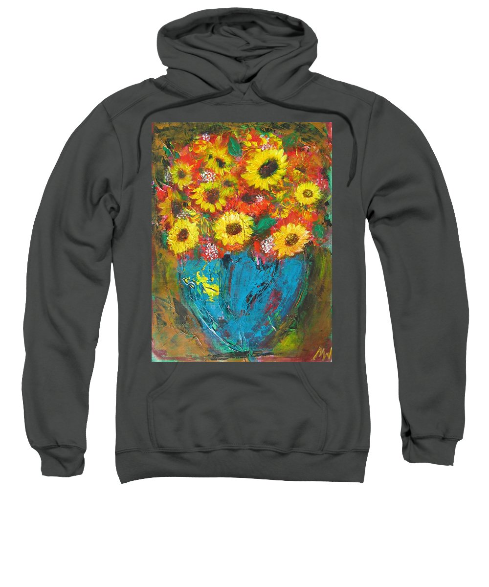 Acrylic Sweatshirt featuring the painting Good Morning Sunshine by Maria Watt