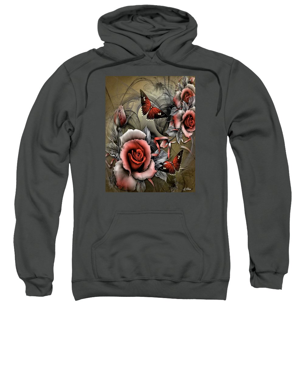 Roses Sweatshirt featuring the photograph Gothic Roses by G Berry