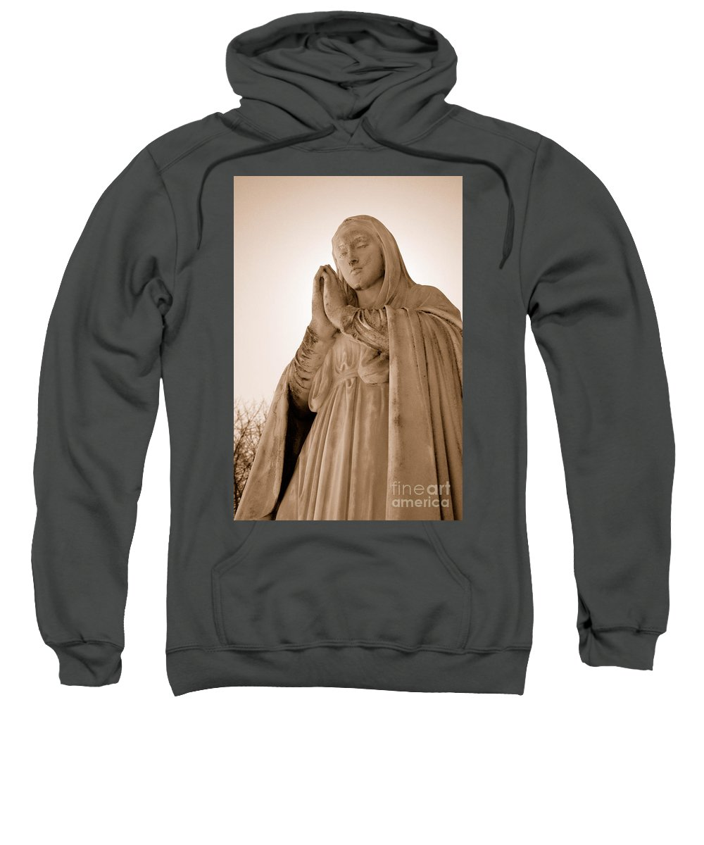 Mary Sweatshirt featuring the photograph Grace by Joe Ng