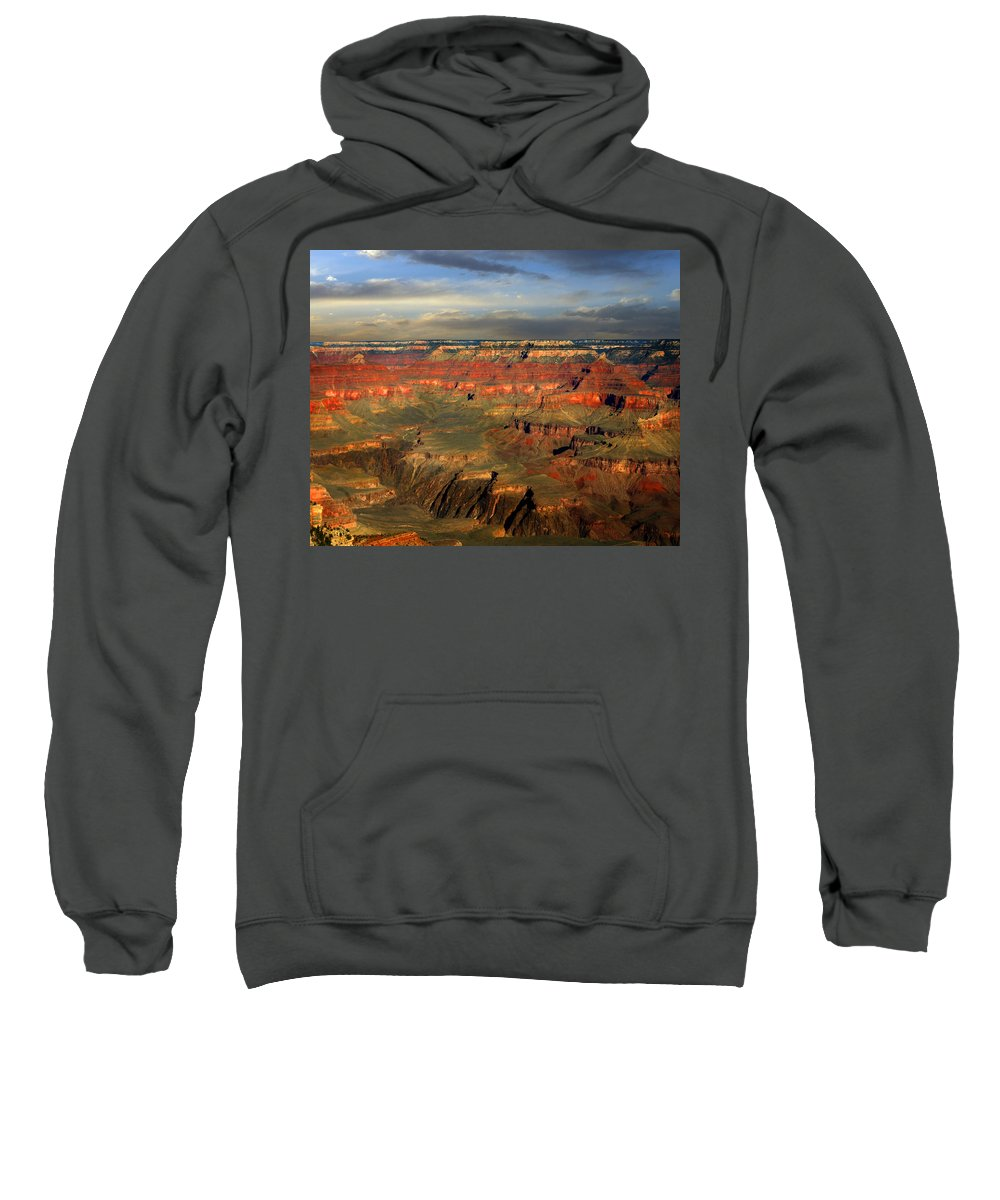 Grand Canyon Sweatshirt featuring the photograph Grand Canyon by Anthony Jones