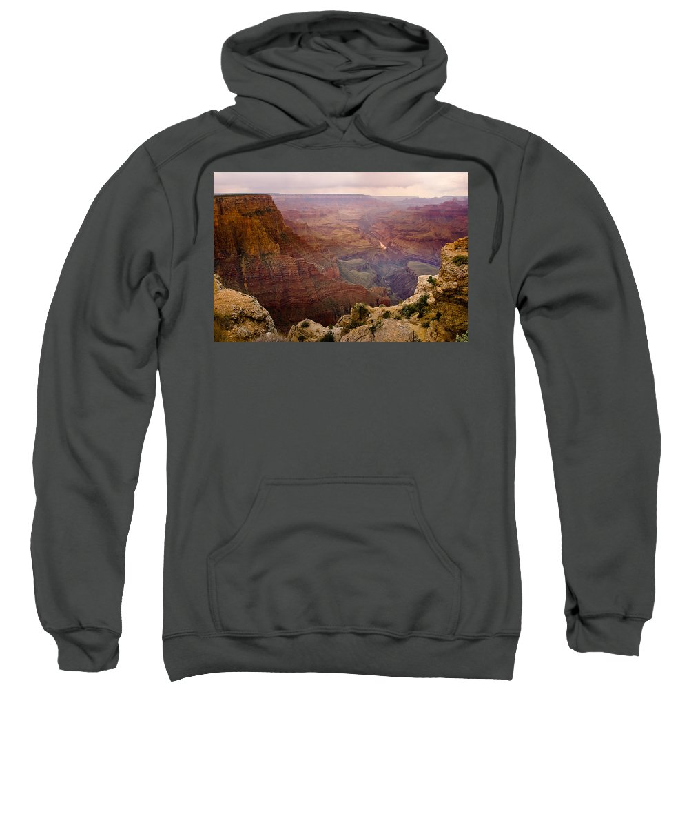 Grand Canyon Sweatshirt featuring the photograph Grand Canyon In The Spring by James BO Insogna