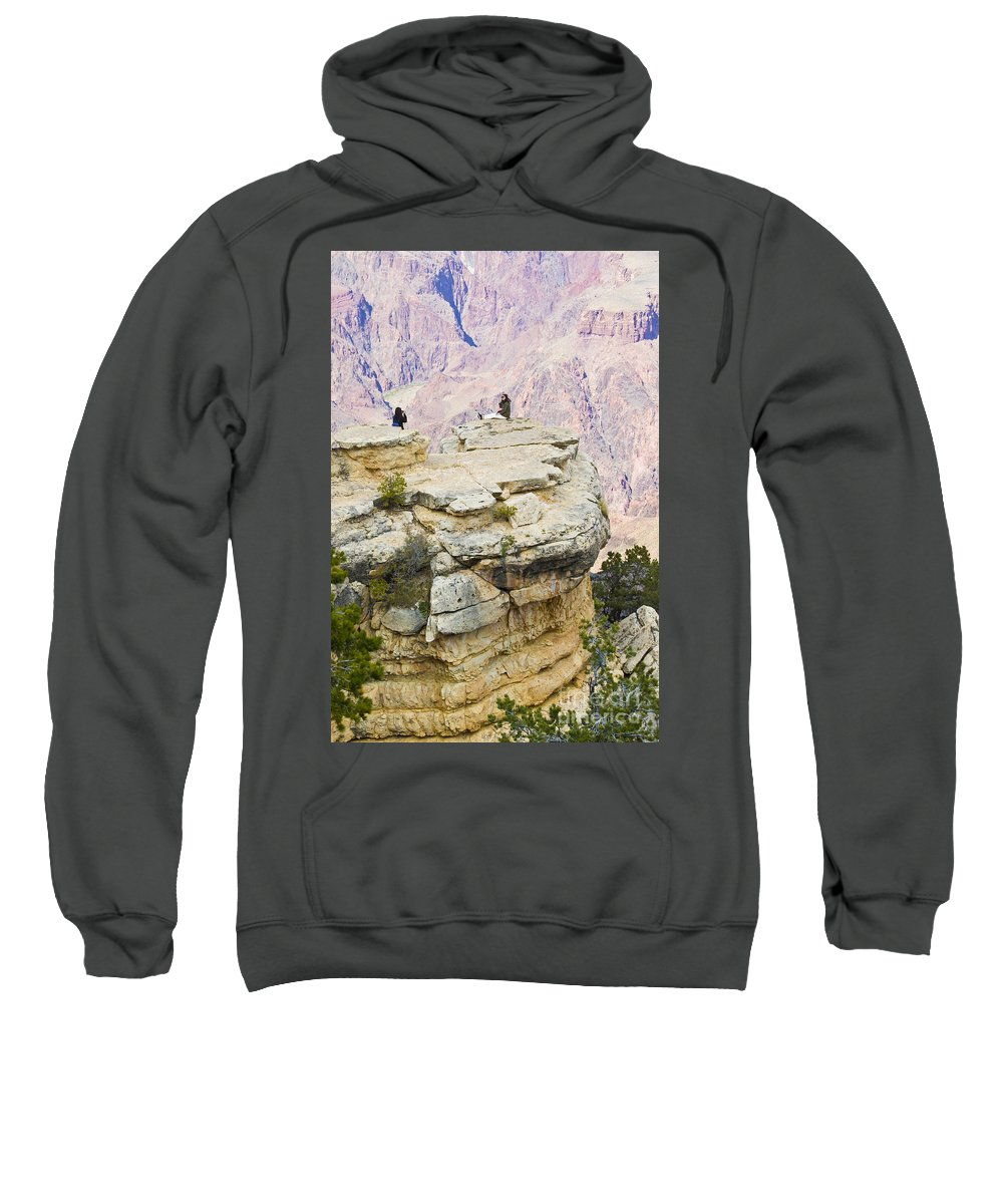 Grand Canyon Sweatshirt featuring the photograph Grand Canyon Photo Op by Chris Dutton