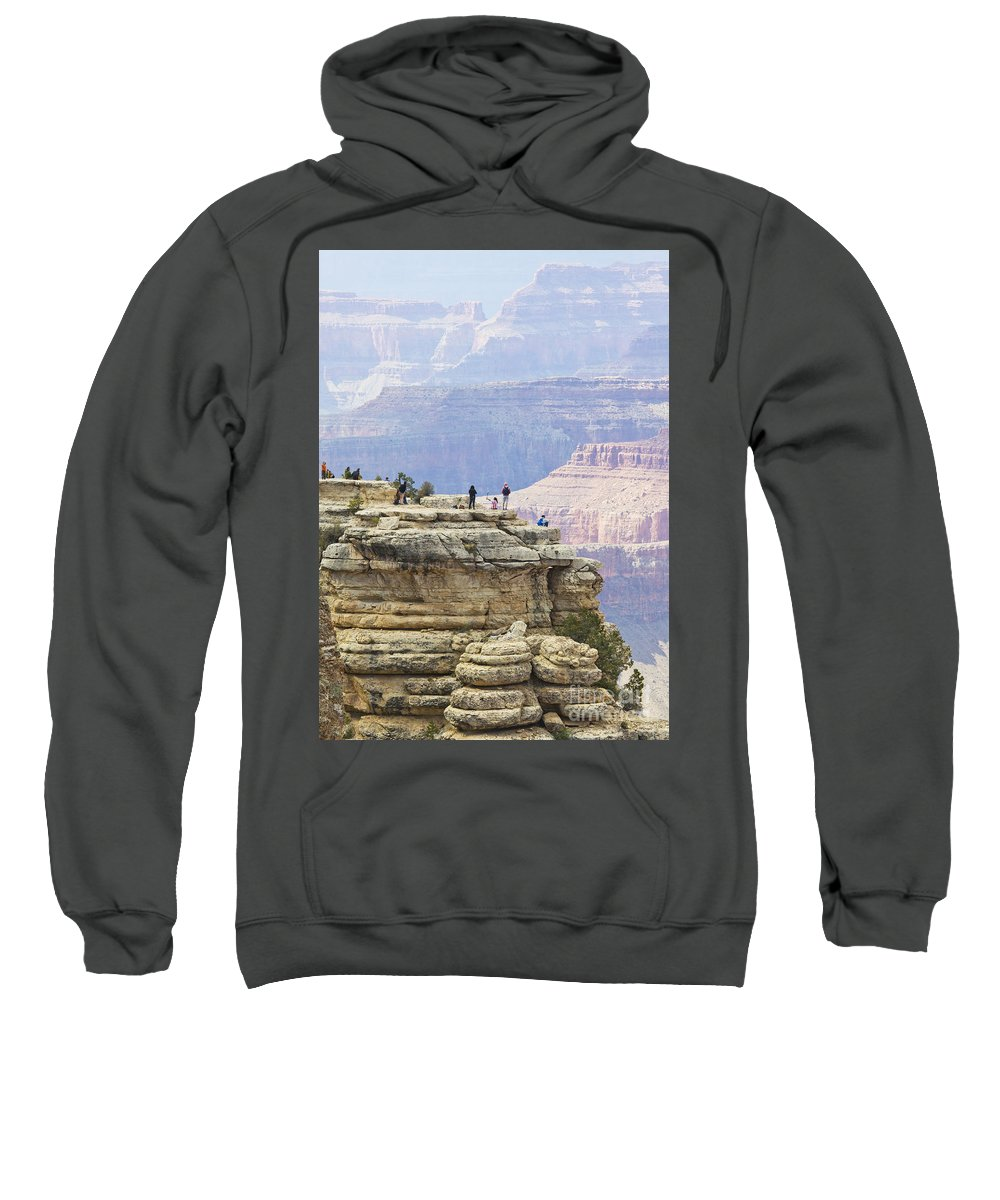 Grand Canyon Sweatshirt featuring the photograph Grand Canyon Vista by Chris Dutton