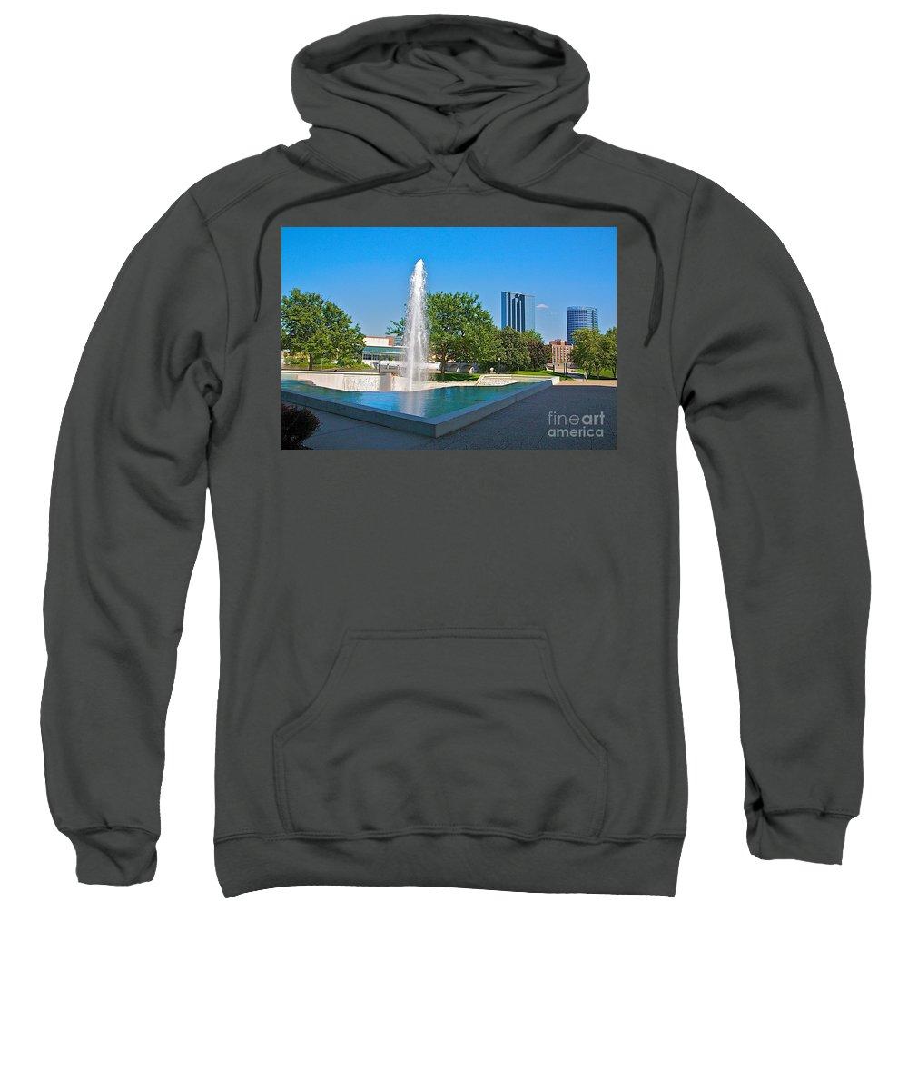 City Sweatshirt featuring the photograph Grand Rapids Mi-7 by Robert Pearson