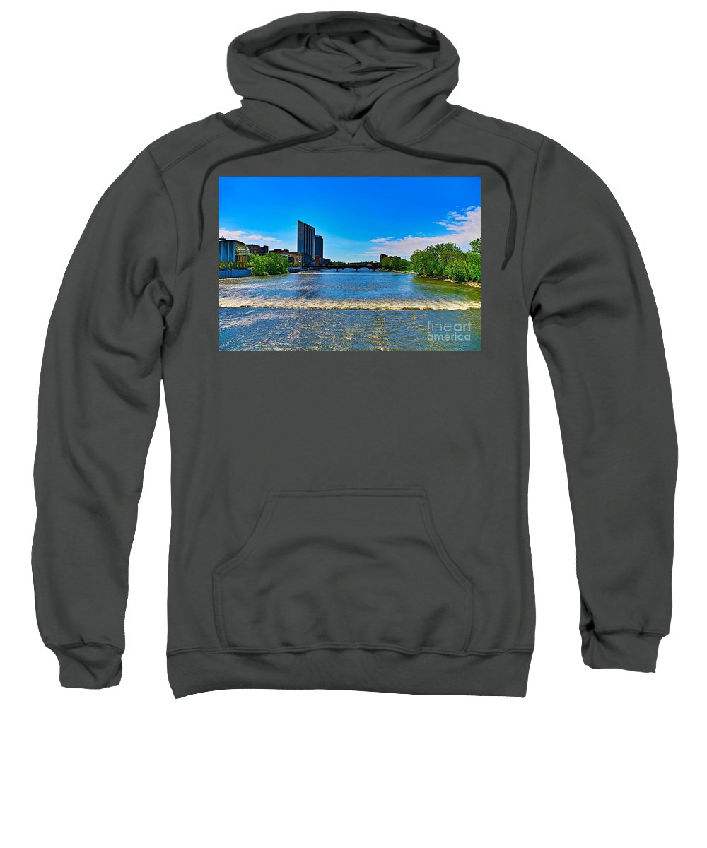 Tags:  West Michigan Photographs Sweatshirt featuring the photograph Grand Rapids Mi- 8 by Robert Pearson
