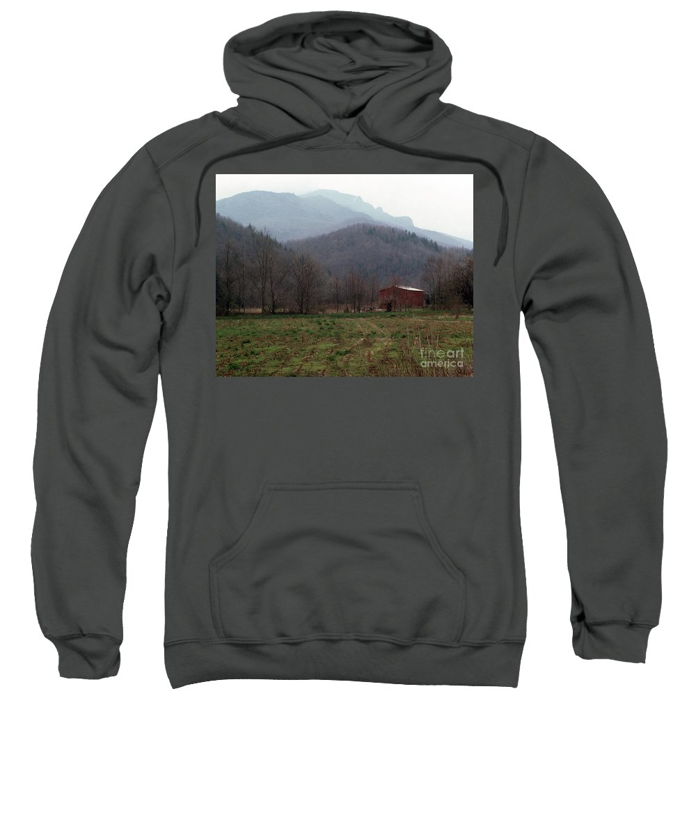 North Carolina Sweatshirt featuring the photograph Grandfather Mountain by Richard Rizzo