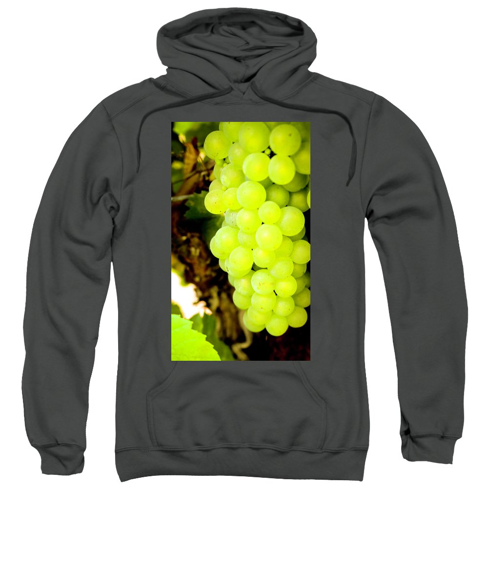 Grapes Sweatshirt featuring the photograph Grapes by Janine Moore