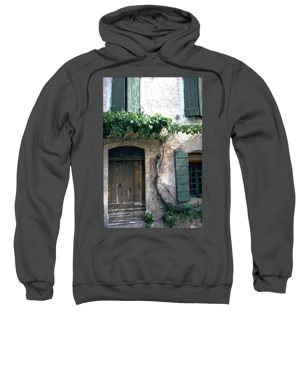 Grapevine Sweatshirt featuring the photograph Grapevine by Flavia Westerwelle