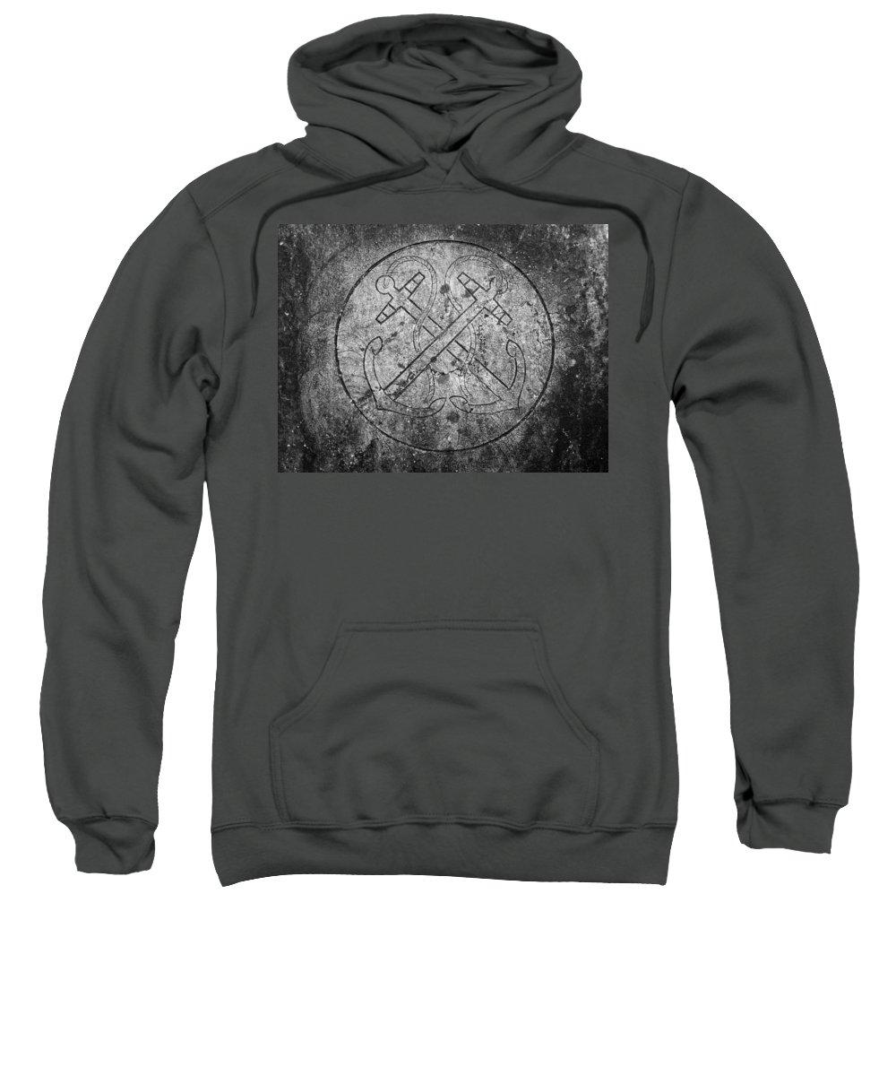 Irish Sweatshirt featuring the photograph Grave Of Cadet Soady Macroom Ireland by Teresa Mucha