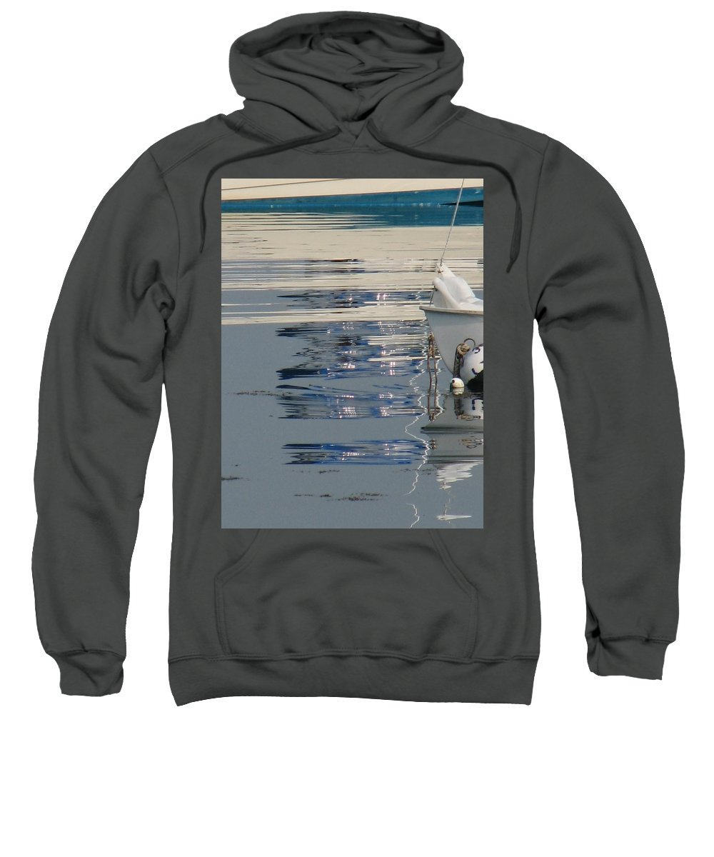 Ocean Sweatshirt featuring the photograph Great Day For Sailing by Kelly Mezzapelle
