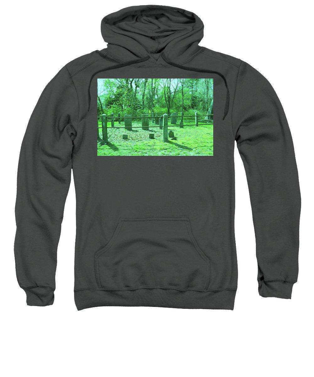 Scenic Sweatshirt featuring the photograph Greed by Erin Rosenblum