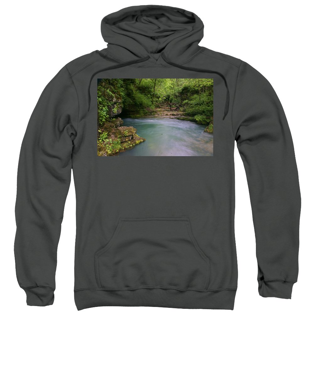 Greer Spring Sweatshirt featuring the photograph Greer Spring by Marty Koch