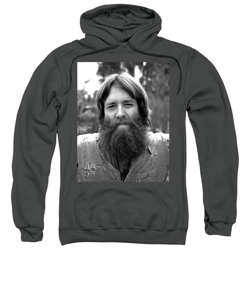 Portrait Sweatshirt featuring the photograph Greg by Lee Santa
