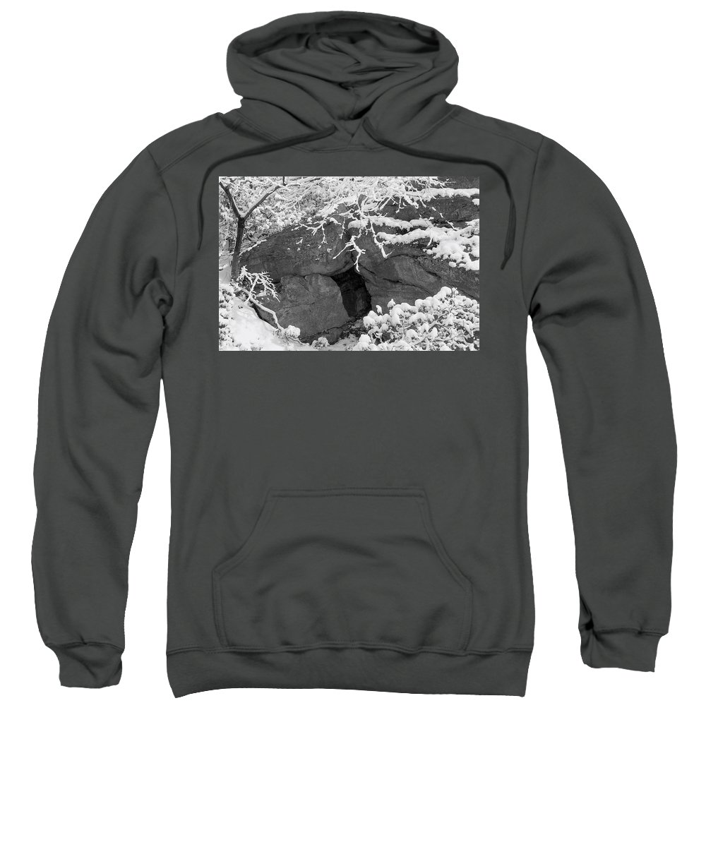 Winter Wonderland Sweatshirt featuring the photograph Grotto by Yuri Lev