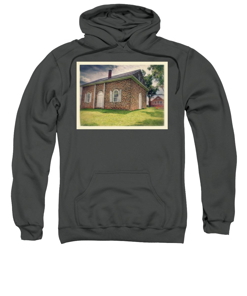 Churches Sweatshirt featuring the photograph Guinston by Paul Kercher