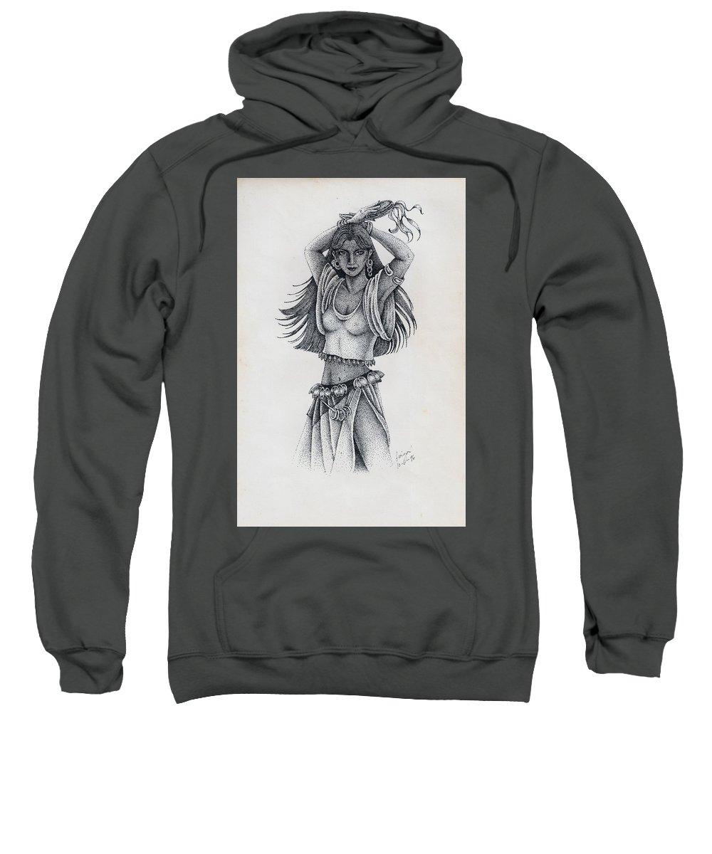 Gypsy girl sweatshirt