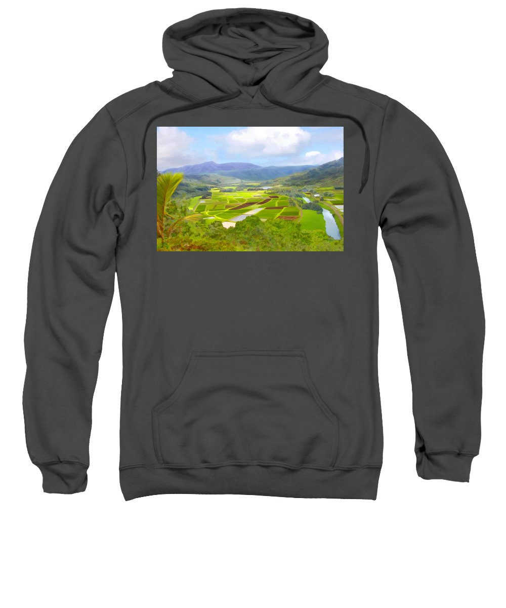 Hawaii Sweatshirt featuring the photograph Hanalai by Kurt Van Wagner