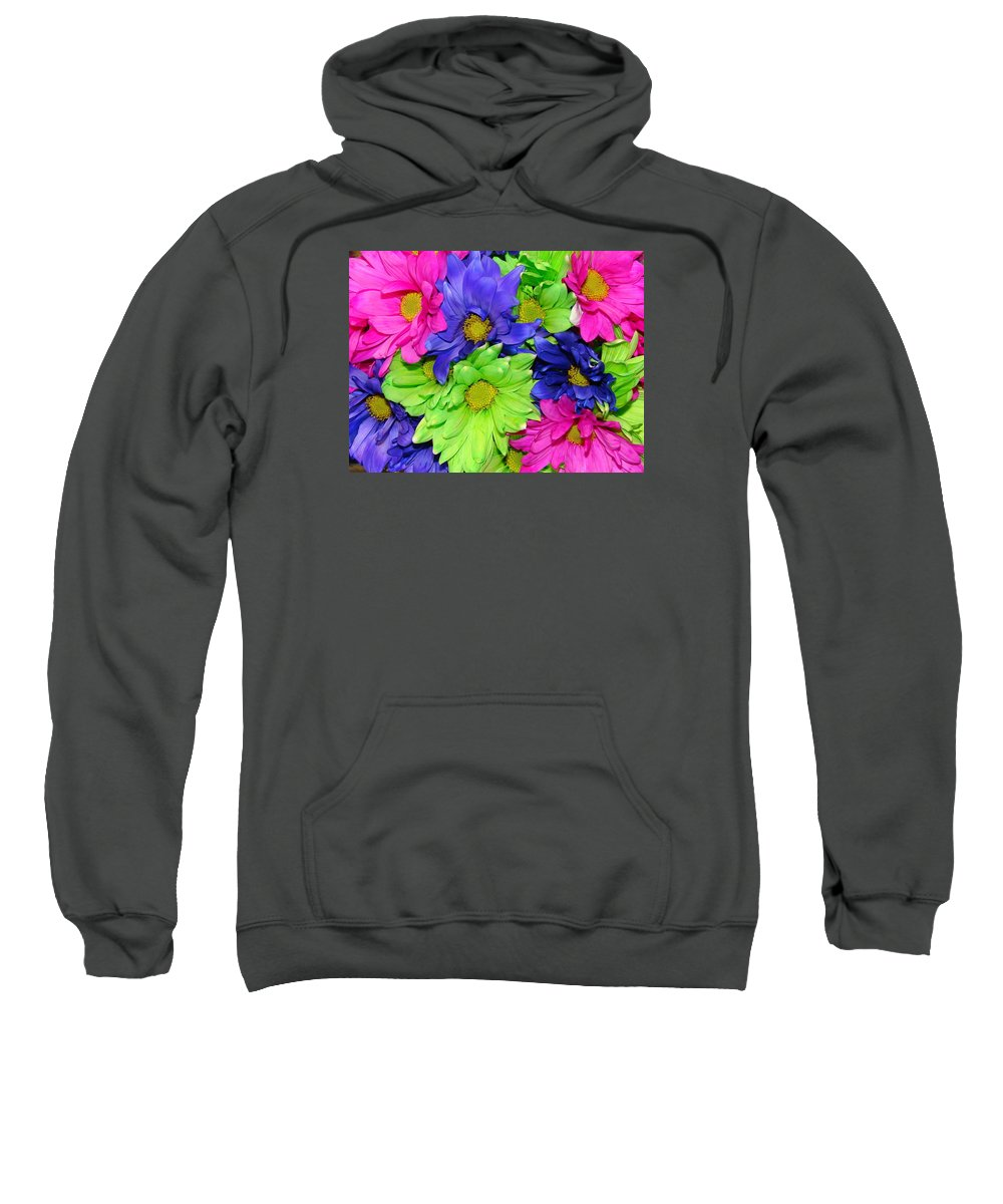 Flowers Sweatshirt featuring the photograph Happiness by J R  Seymour