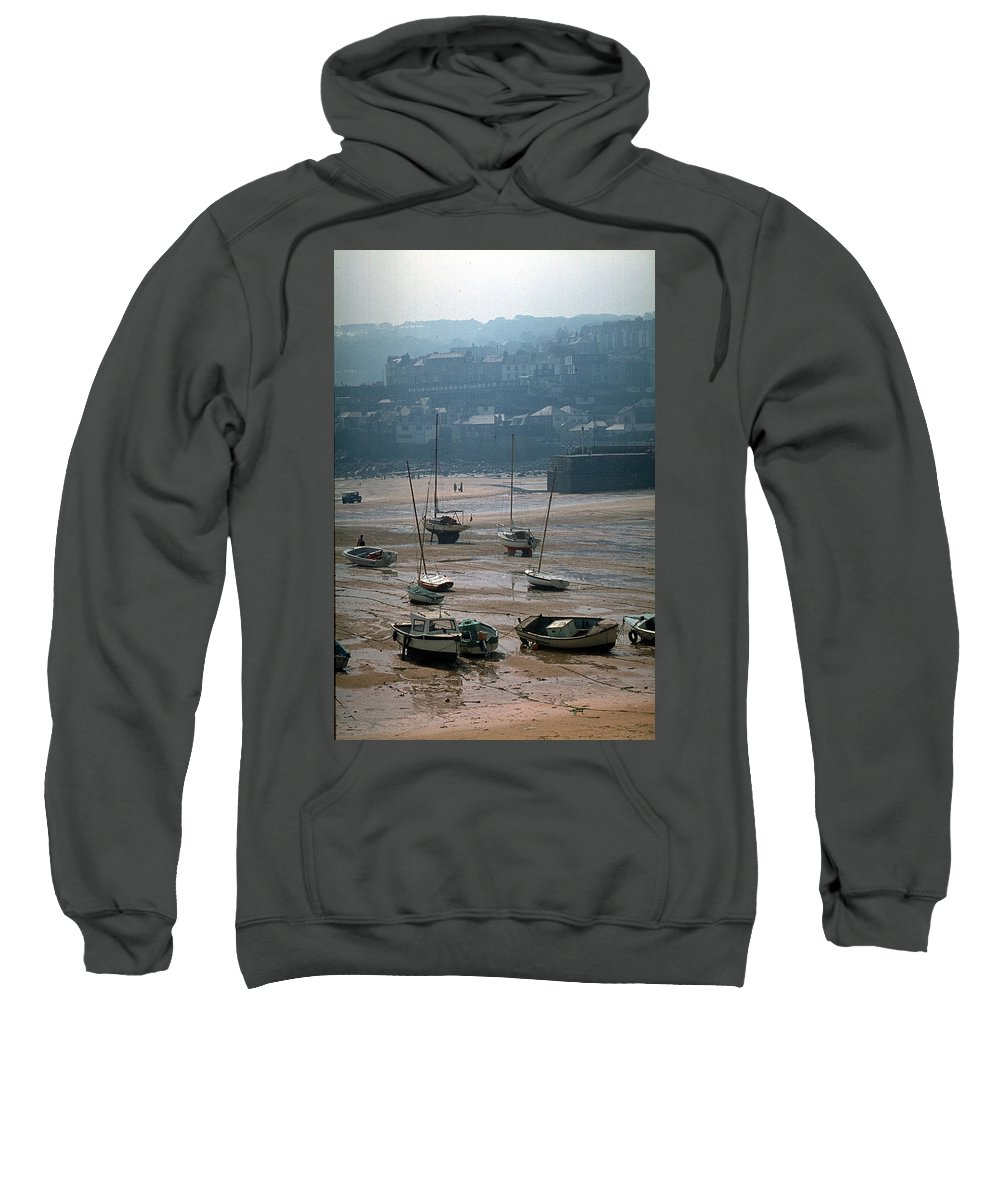 Great Britain Sweatshirt featuring the photograph Harbor IIi by Flavia Westerwelle