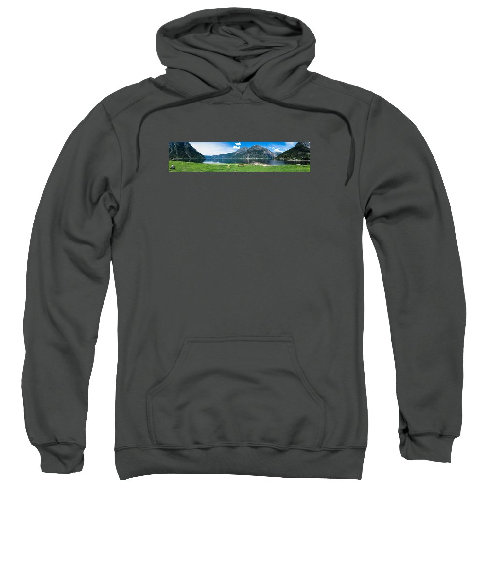 Benc Sweatshirt featuring the photograph Hardangerfjord by Claudio Bergero