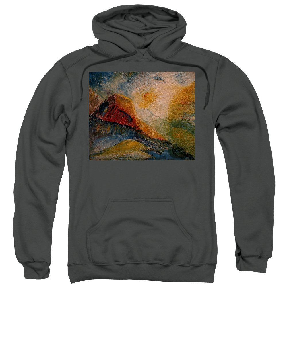 Rede Sweatshirt featuring the painting Harvast by Jack Diamond