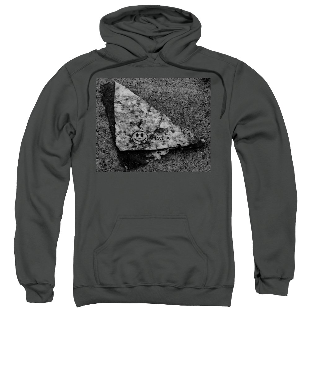Debris Sweatshirt featuring the photograph Have A Nice Day by Angus Hooper Iii