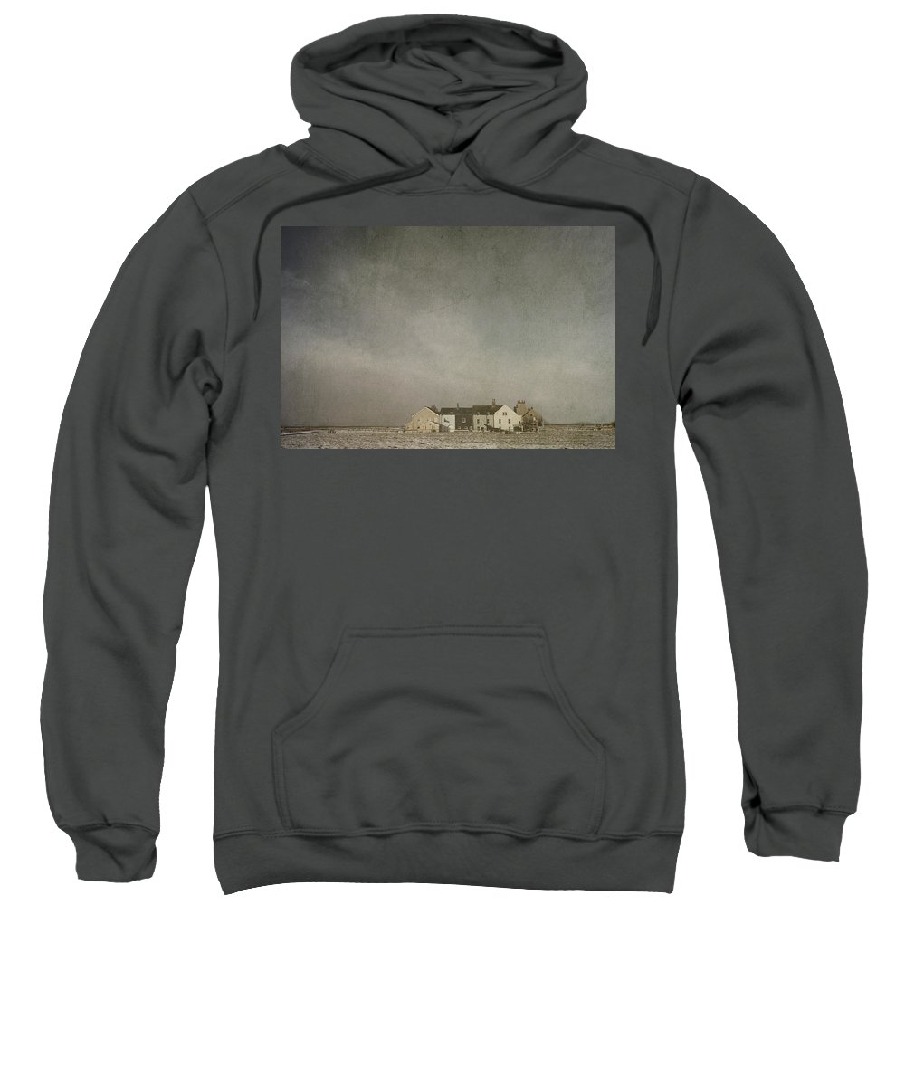 Geese Sweatshirt featuring the photograph Heading South - Original Photography By Gavin Wilson, Cumbria Uk  by Gavin Wilson