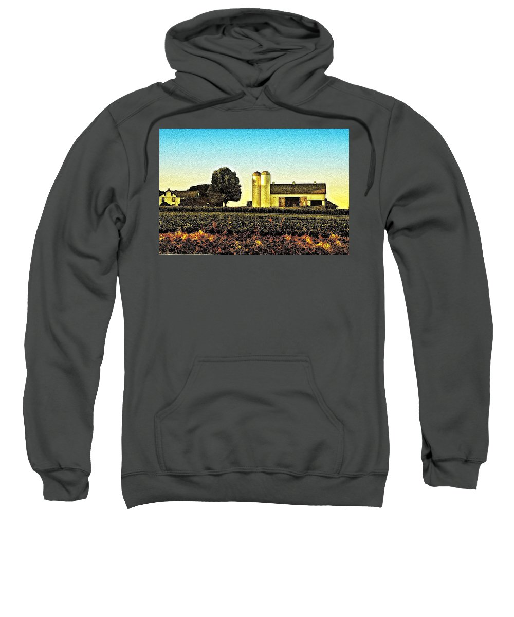Heartland Sweatshirt featuring the photograph Heartland by Bill Cannon