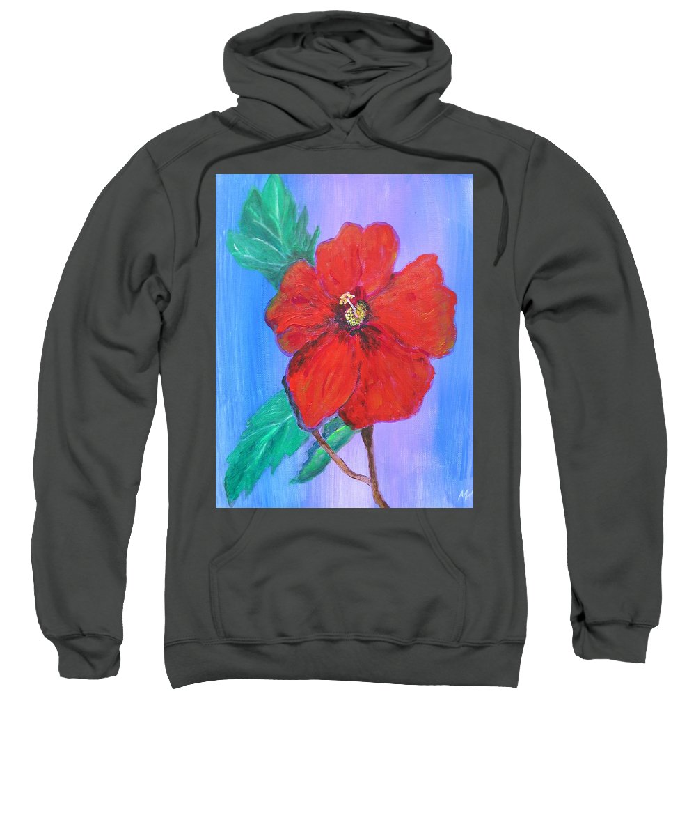 Acrylic Sweatshirt featuring the digital art Heavenly Scent by Maria Watt