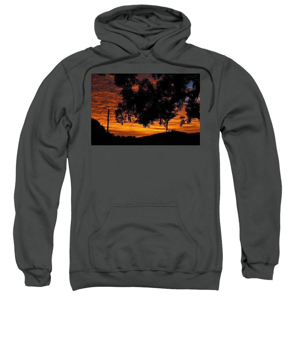 Sun Sweatshirt featuring the photograph Heaven's Gold by Robert Nacke
