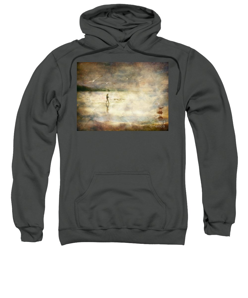 Birds Sweatshirt featuring the photograph Helpless by Tara Turner