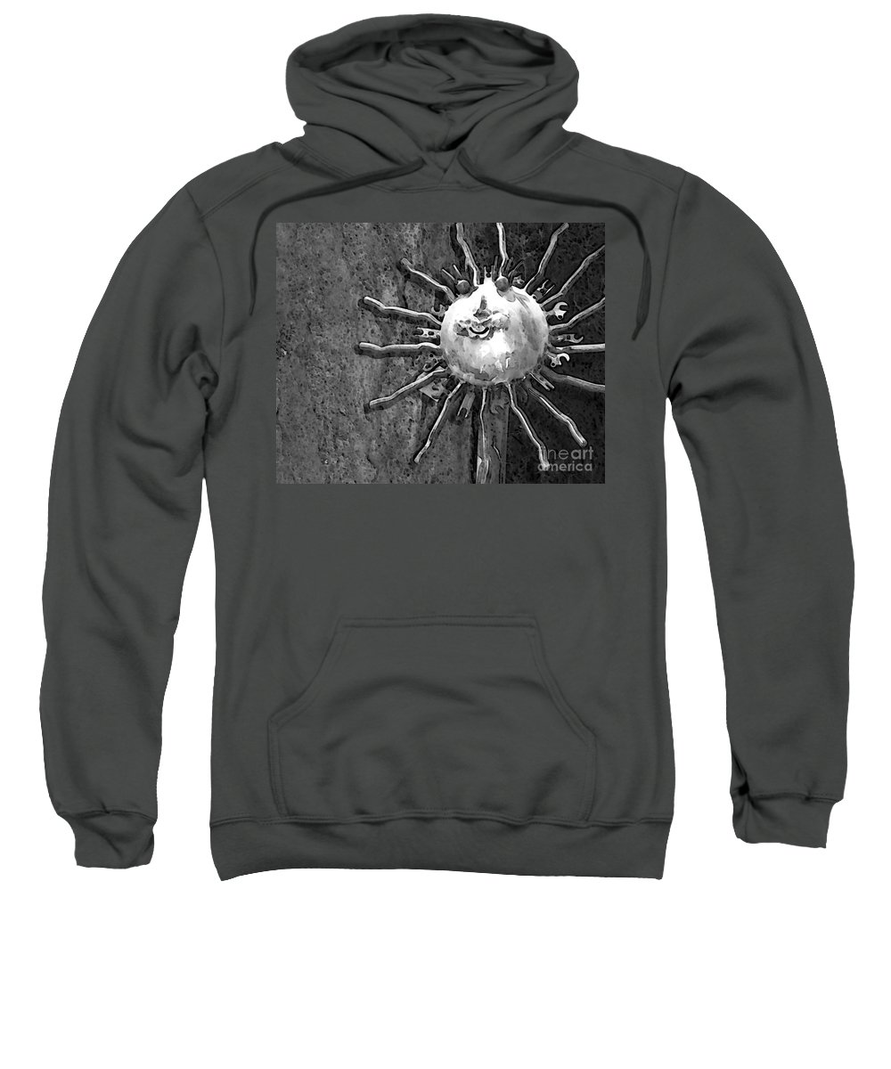 Sun Sweatshirt featuring the photograph Here Comes The Sun by Debbi Granruth