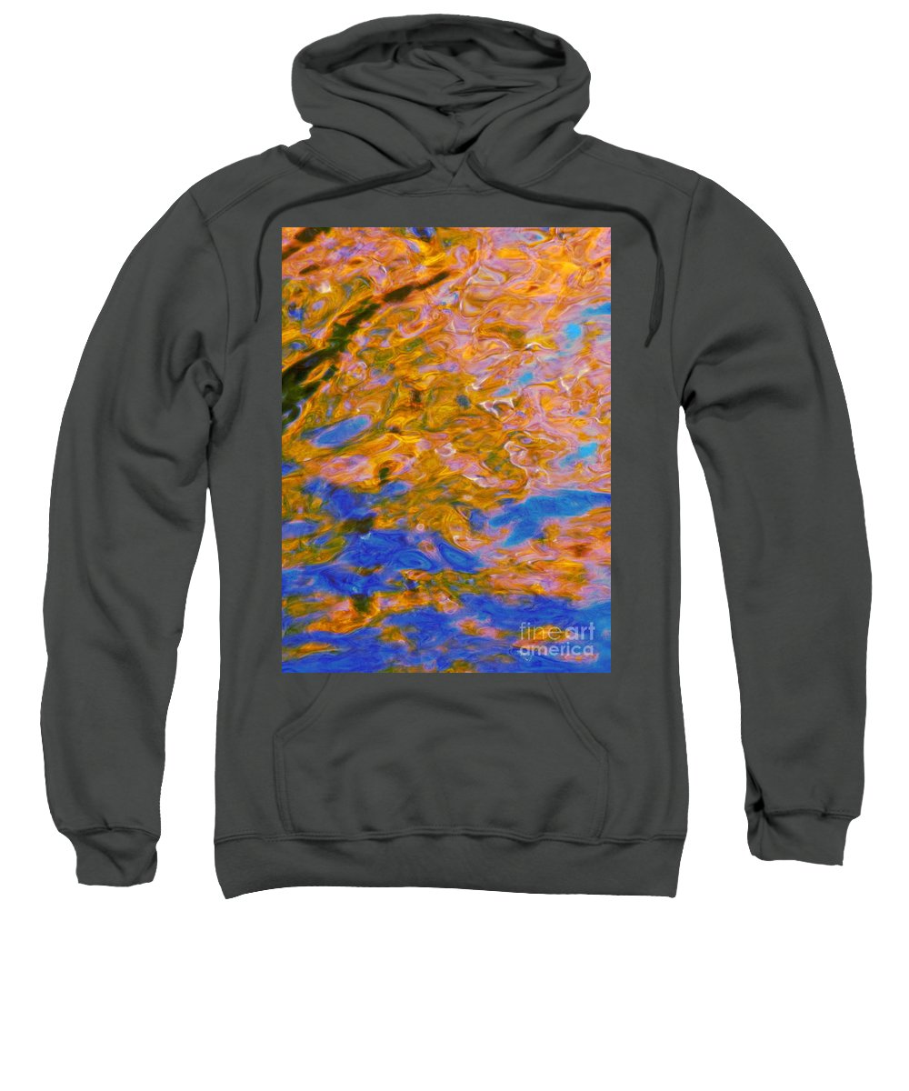 Water Art Sweatshirt featuring the photograph Hidden Dimensions by Sybil Staples