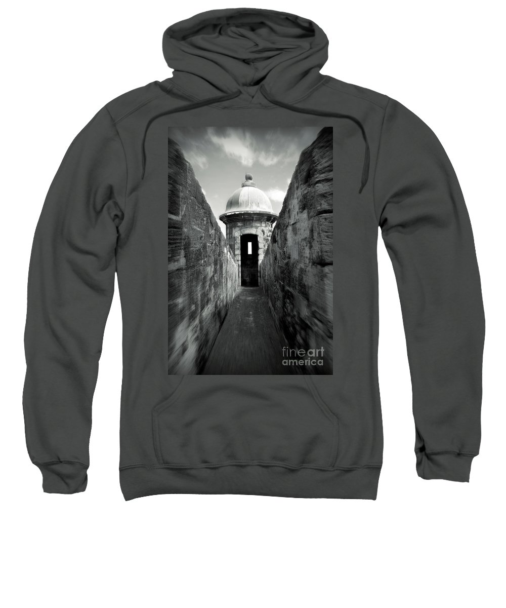 Fort Sweatshirt featuring the photograph Historic San Juan by Perry Webster