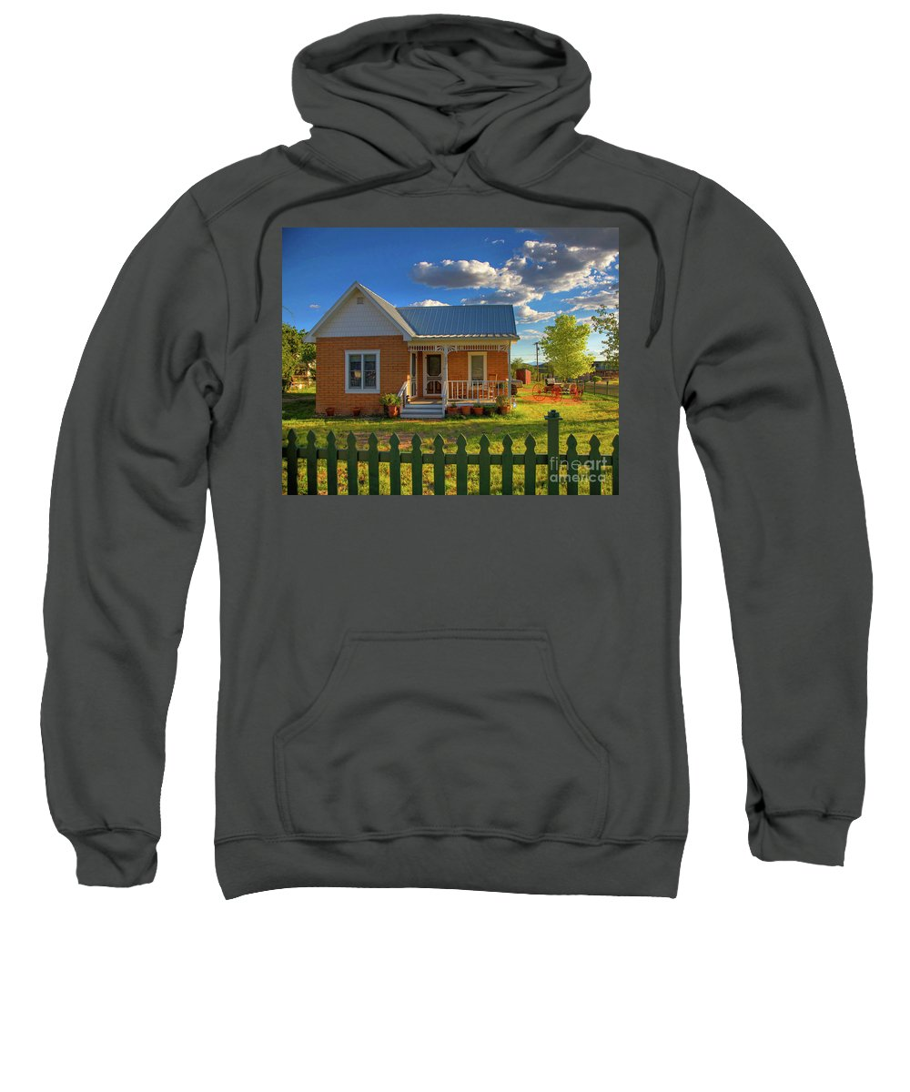 Landscape Sweatshirt featuring the photograph Historic Tombstone In Arizona by Charlene Mitchell