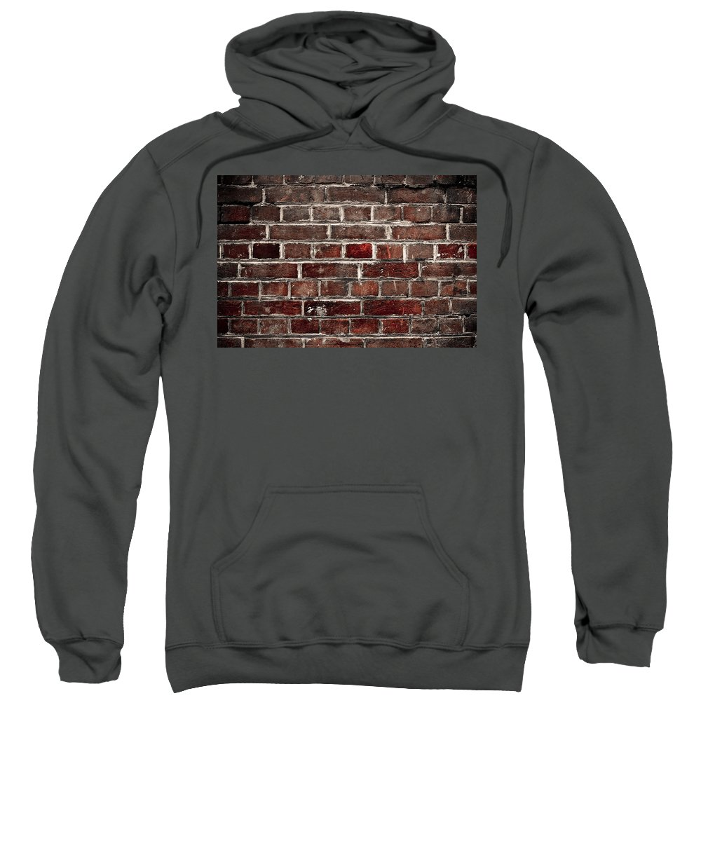 Wall Sweatshirt featuring the photograph Hit The Wall by Kelly Jade King