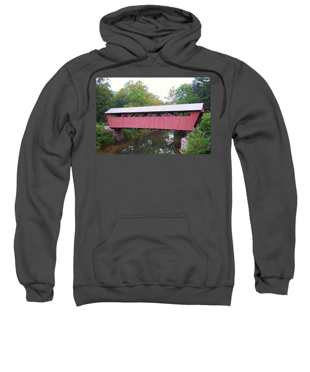 Hokes Mill Sweatshirt featuring the photograph Hokes Mill by Eric Liller
